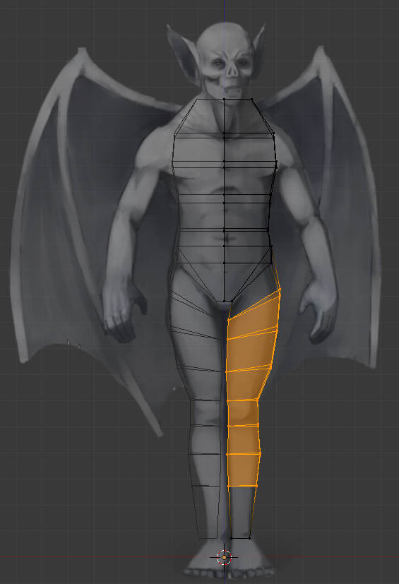 Modeling using concept art as reference.